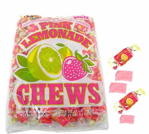 Pink Lemonade Chews 240 Ct.