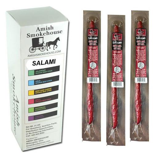Amish Smokehouse Salami 21 Count