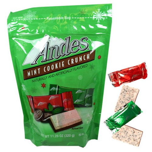 Andes Mints Cookie Crunch Holiday 11.28oz Bag