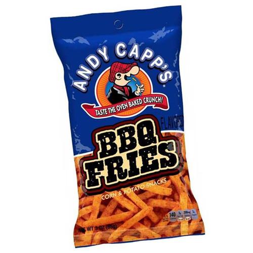 Andy Capp Fries BBQ 3oz Bag