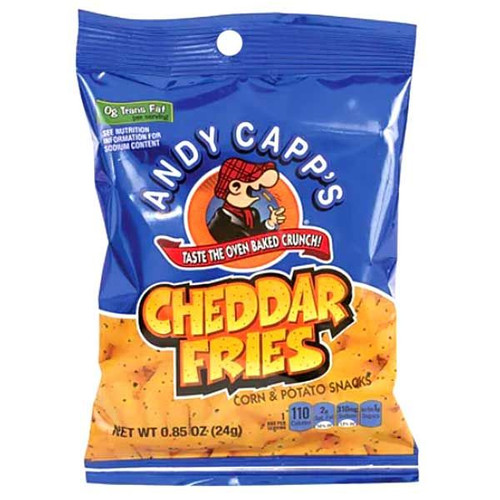 Andy Capp's Cheddar Fries .85oz Bag
