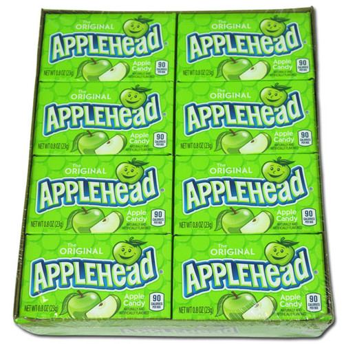 Apple Heads Candy 24 Count