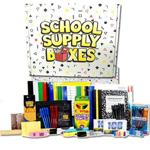 Back To School Supply Kit High School 92 Pieces