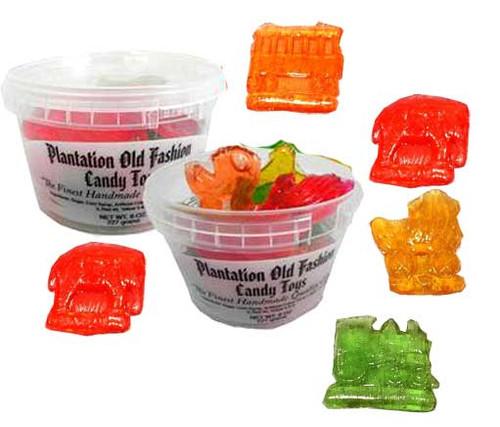Clear Toy Candy 8oz Tub