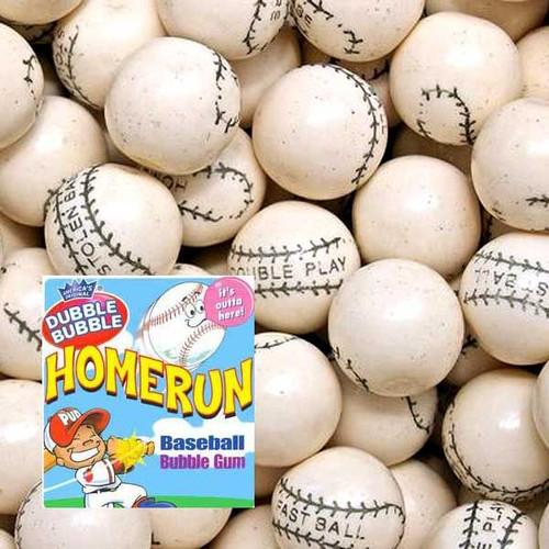 Baseball Home Run Gum 850 Count Bulk