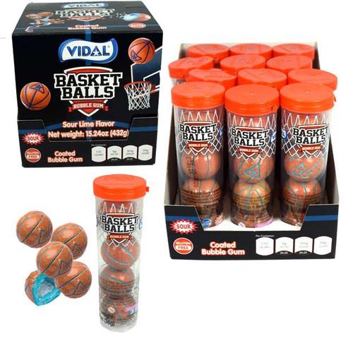 Basketball Gumballs 12 Pack
