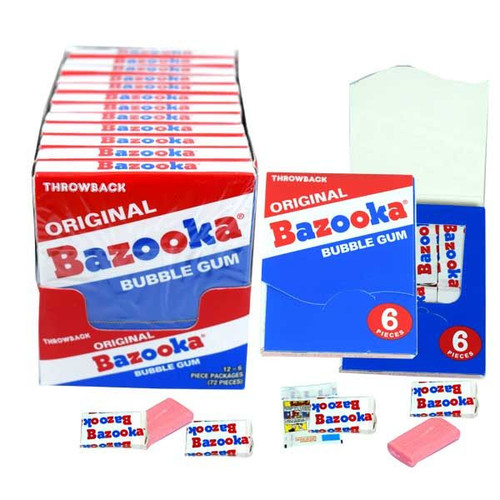 "Bazooka ""Throw Back"" Original 12 Count"