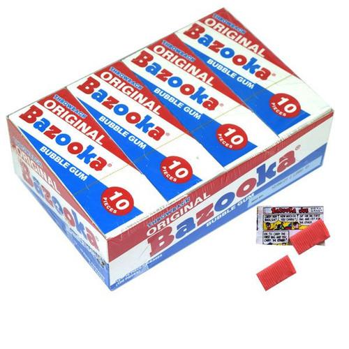 Bazooka Original Bubble Gum 12 Packs