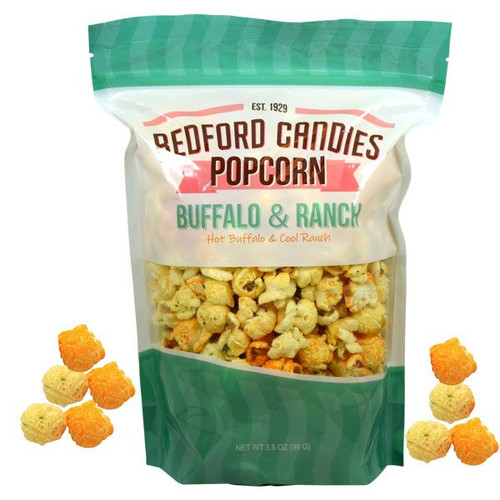 Bedford Candies Popcorn Buffalo Ranch 3.5oz Bag