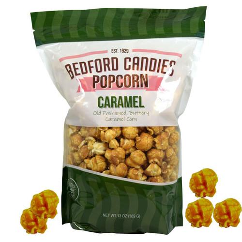 Bedford Candies Popcorn Caramel 13oz