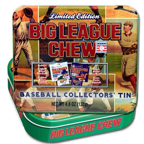 Big League Chew Baseball Collectors Tin 4.6oz