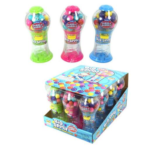 Big Spiral Bubble Gum Machines 12 Count