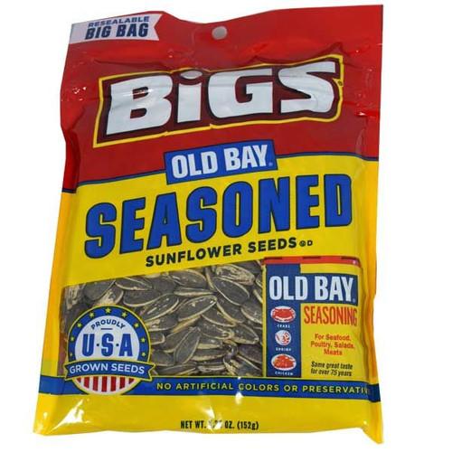 Bigs Old Bay Seasoning Sunflower Seeds 5.35oz