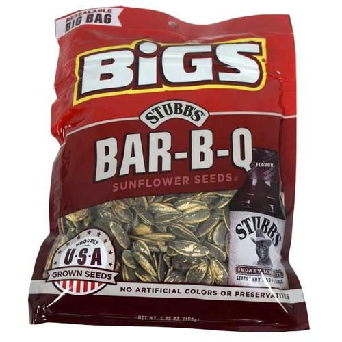 Bigs Smokey BBQ Sunflower Seeds 5.35oz