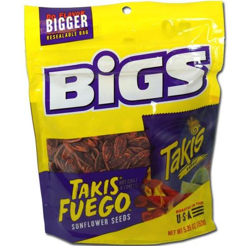 Bigs Takis Fuego Seeds Hot Chili/Lime 5.35oz