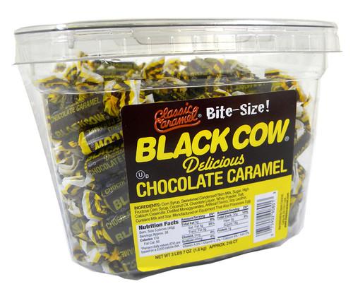 Black Cow Bite Size 160 Count