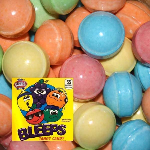 Bleeps Candy Coated Candies 700 Count Bulk