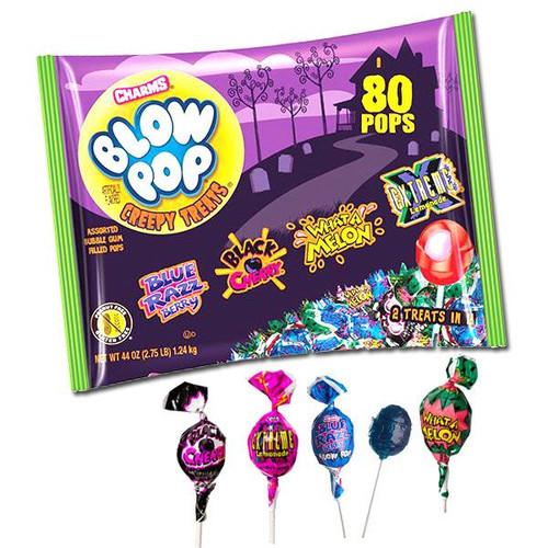 Blow Pops Creepy Treats 80 Count