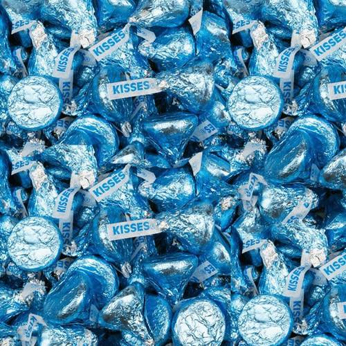 Hershey's Kisses Lite Blue 5lb Bulk