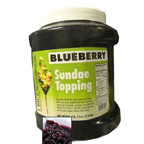 Blueberry Sundae Topping 4.15lb Jar