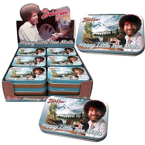 Bob Ross Happy Tree Mints 18 Count