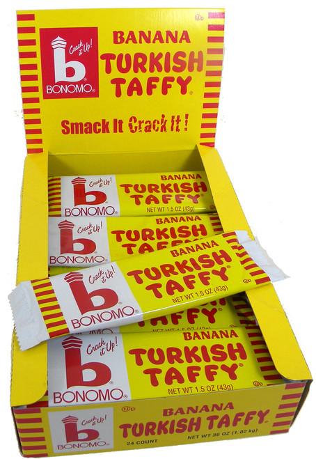 Bonomo Turkish Taffy Banana 24ct