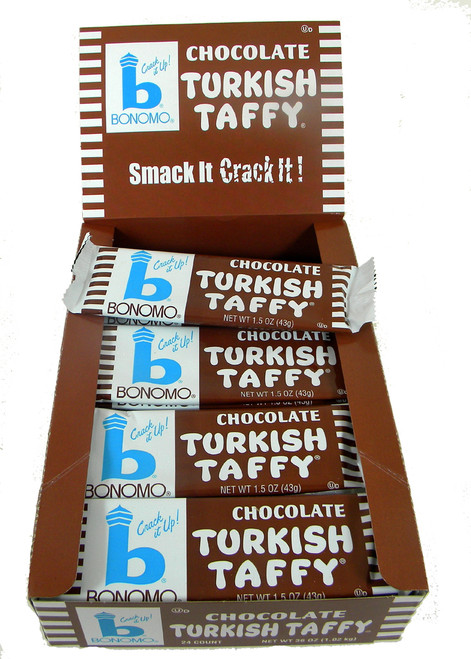 Bonomo Turkish Taffy Chocolate 24ct