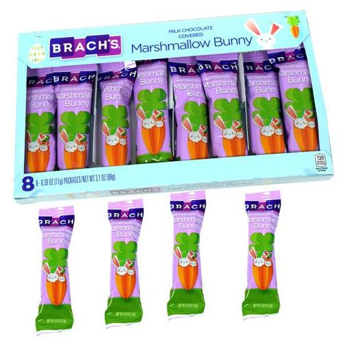 Brach's Chocolate Marshmallow Bunnies 8 Count