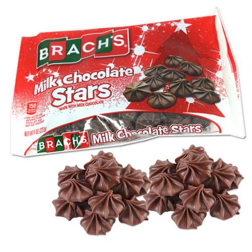 Brach's Milk Chocolate Stars 8oz Bag