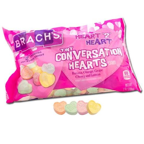 Brach's Tiny Heart to Heart Conversation Hearts 7oz