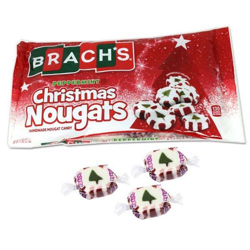 Brach's Peppermint Christmas Candy Nougats Mix 11oz