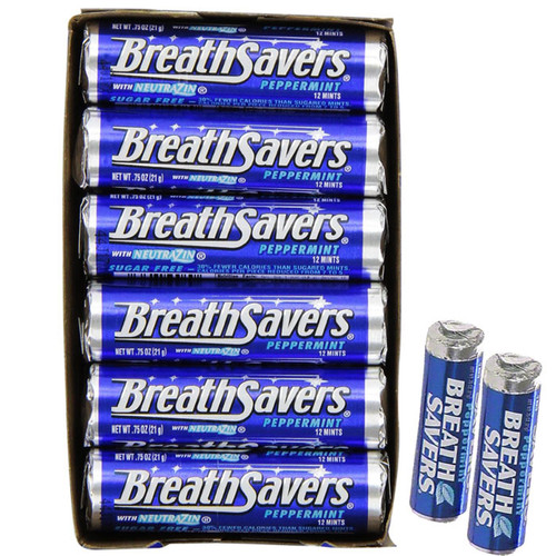 BreathSavers Mints 24ct - Peppermint