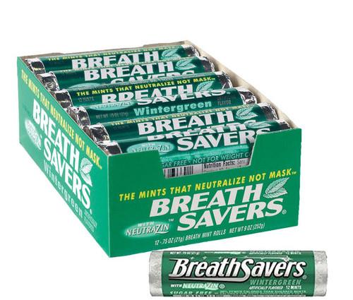 BreathSavers Mints 24ct - Wintergreen
