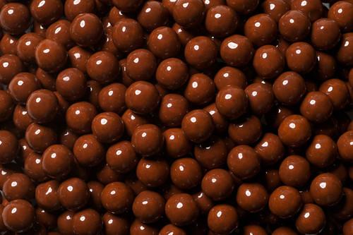Brown Mini Chocolate Balls 2 lb Bag