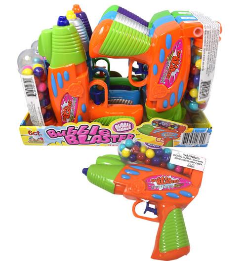 Bubble Blaster Squirt Toy & Bubble Gum 6 Count