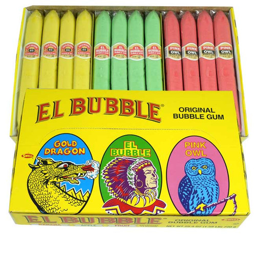 Bubble Gum Cigars 36 Count (Yellow Box)