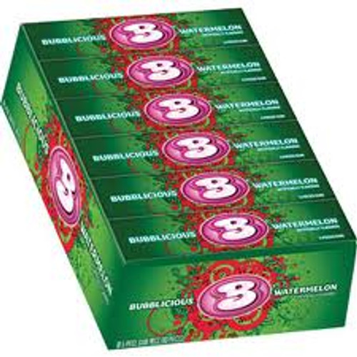 Bubblicious Bubble Gum 18ct - Watermelon