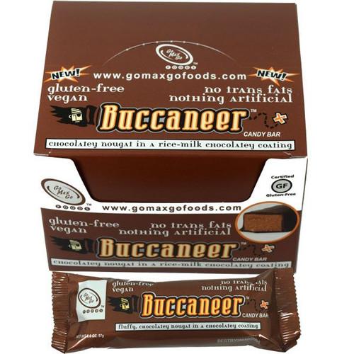 Buccaneer Vegan Candy Bars 12 Count