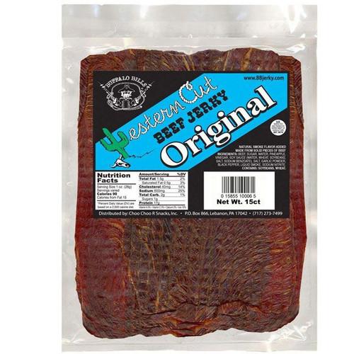Buffalo Bills Western Cut Original Beef Jerky 15 Count