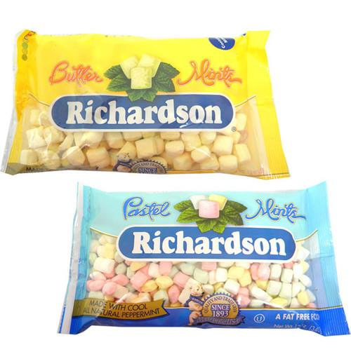 Butter Mints; Pastel Mints  12oz Bags