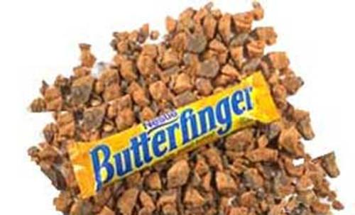 Butterfinger Chopped Topping 3lb Bag