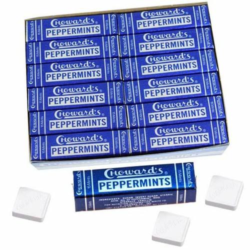 C Howard's Peppermint Mints 24 Count