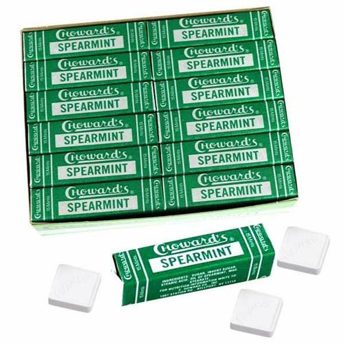 C Howard's Spearmint Mints 24 Count