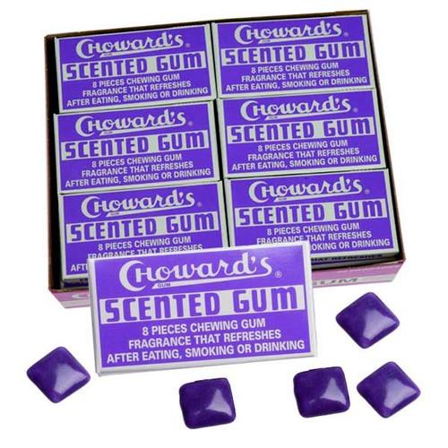 C Howard's Violet Scented Gum 24 Count