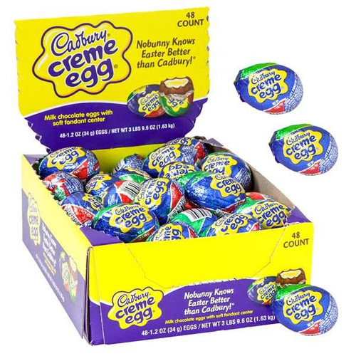 Cadbury Creme Eggs 48ct Easter Candy