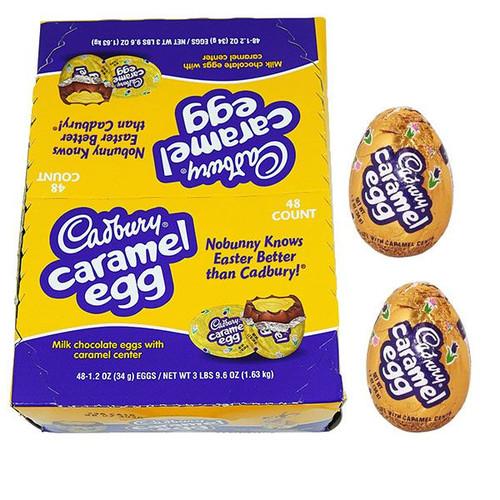 Cadbury Caramel Eggs 48 Count