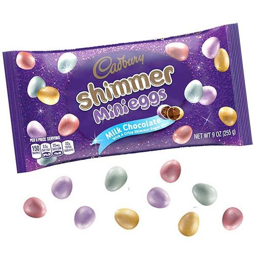 Cadbury Shimmer Mini Chocolate Eggs 9oz Bag