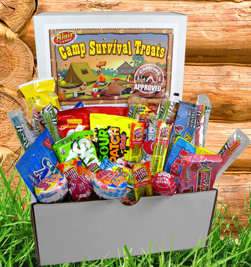 Camp Survival Treat Box