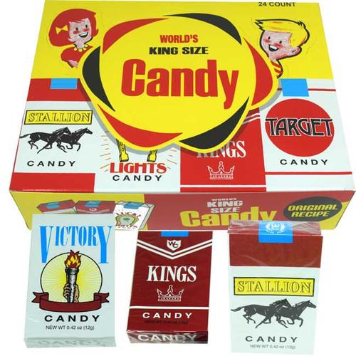 Candy Cigarettes 24ct Nostalgic Candy