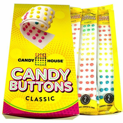 Candy Buttons 24ct Wrapped